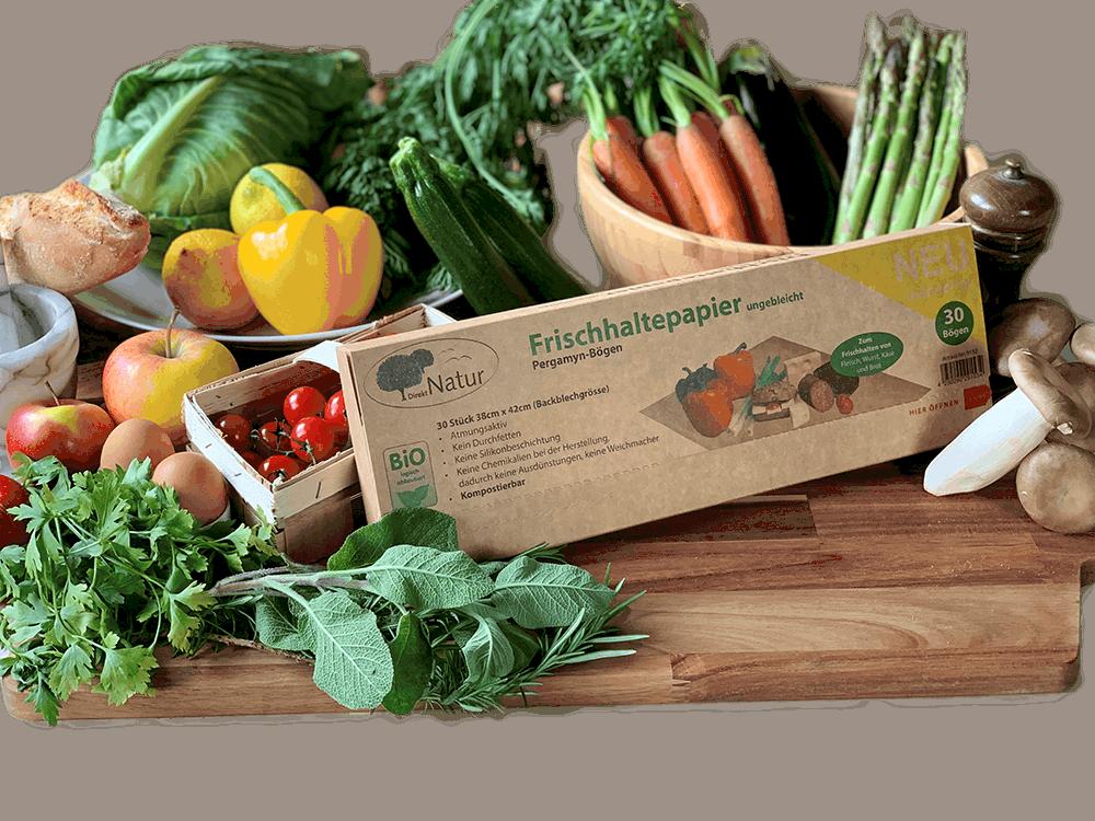 Frischhaltepapier - nachhaltige Produkte