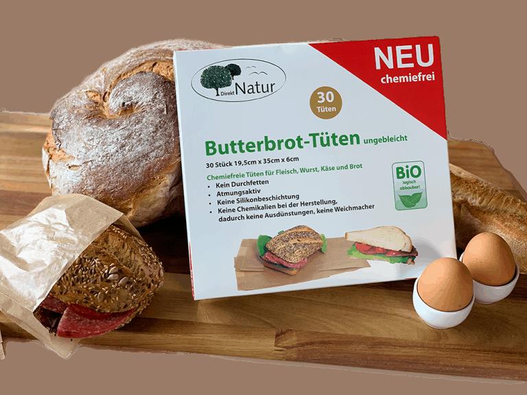 Butterbrottüten - nachhaltige Produkte