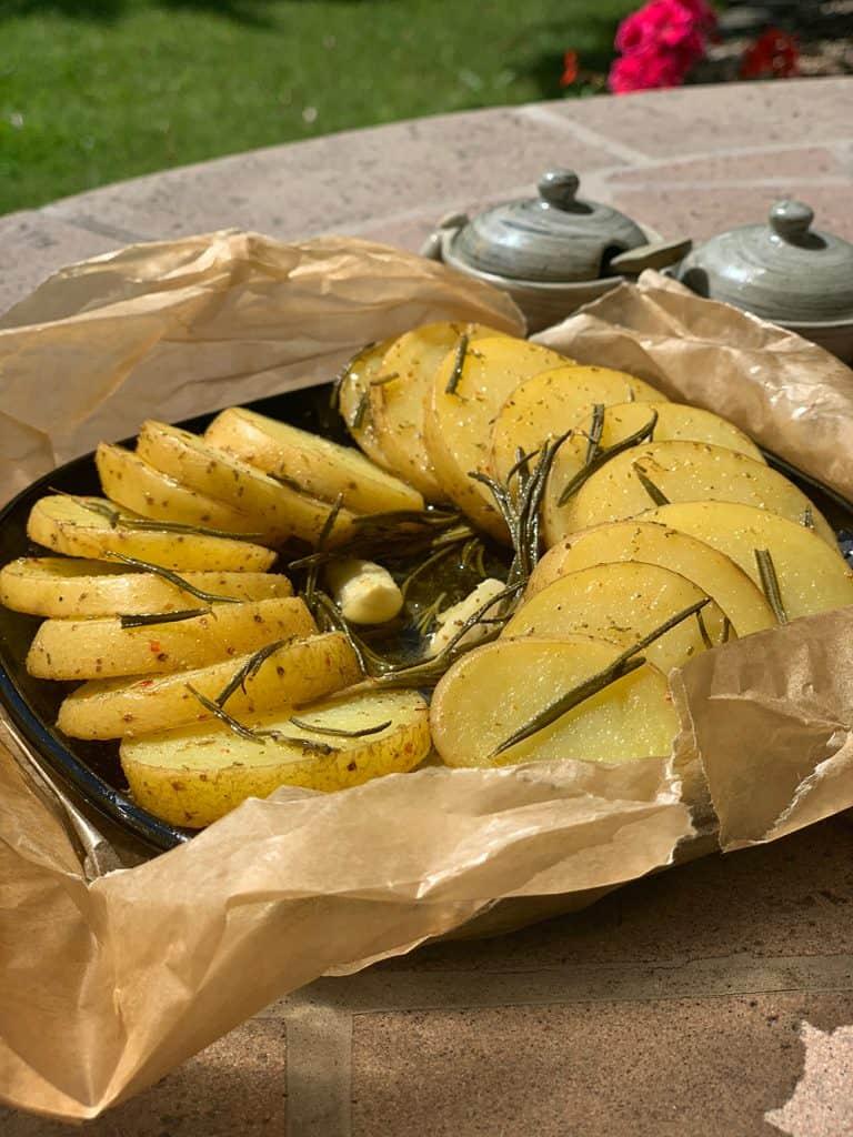 Schnelle Gerichte – Rosmarinkartoffeln