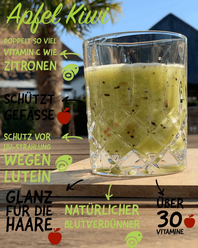 Kiwi und ihre gesundheitlichen Vorteile