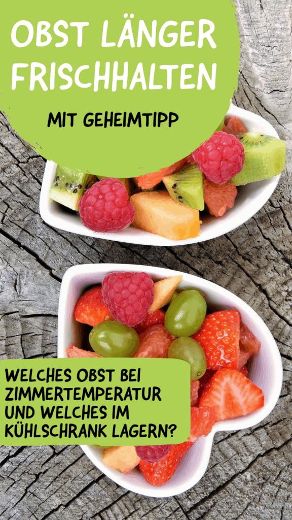 Ganze Früchte für kalorienarmes Essen