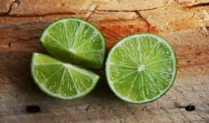 Limette hat wenig Zucker