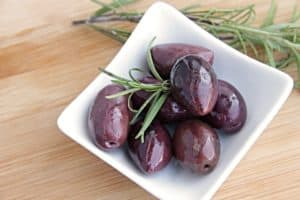 Oliven haben keinen Zucker