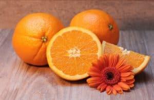 Orange ist gut zum Abnehmen