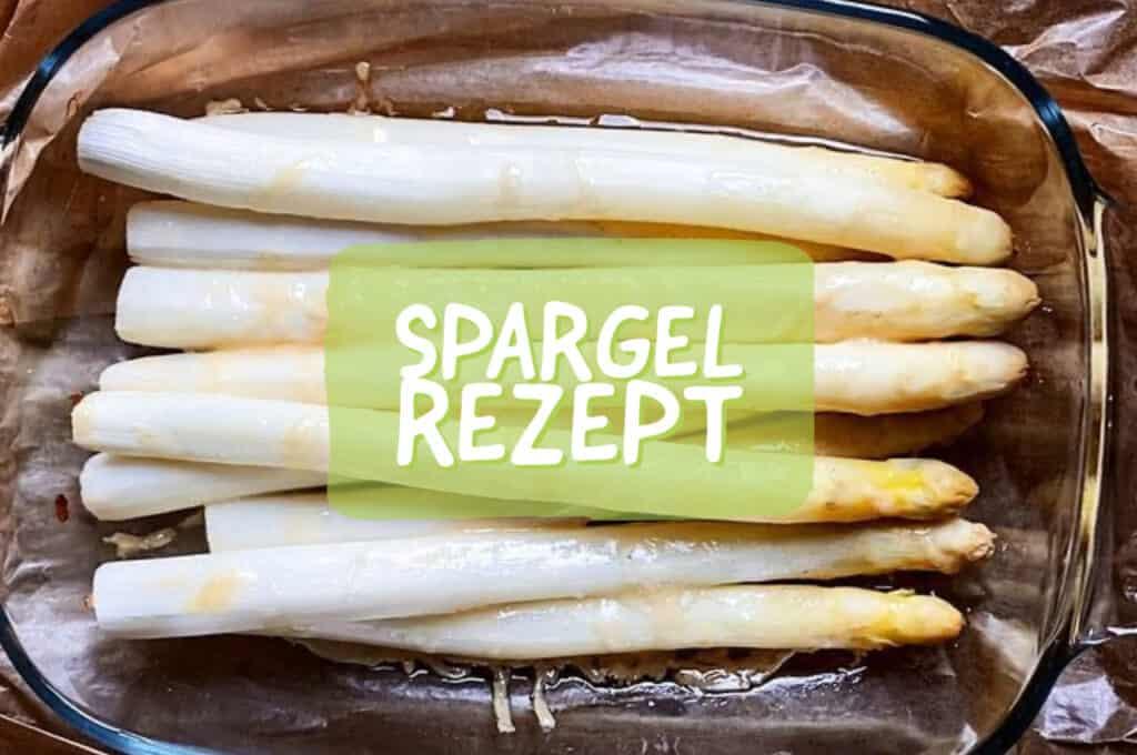 Spargel im Ofen zubereiten mit Papier